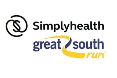 Simplyhealth Great Suuth Run logo