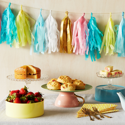 Paper tassel garlands - perfect for a party