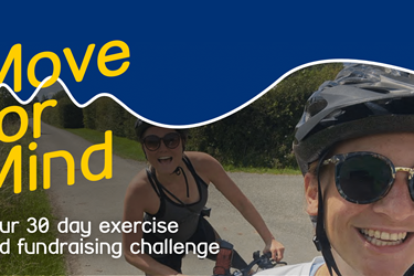 Move for Mind - Your 30-day exercise and fundraising challenge